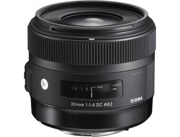 Объектив Sigma AF 30mm f/1.4 DC HSM Art NIKON