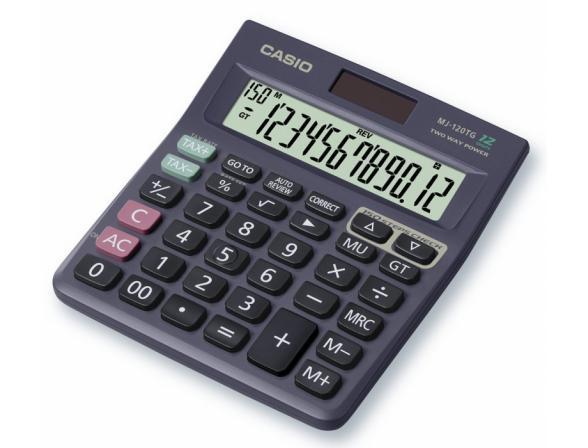 Калькулятор настольный Casio casMJ-120TG