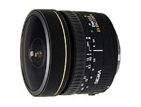 Объектив Sigma AF 8mm f/3.5 EX DG fisheye circular NIKON