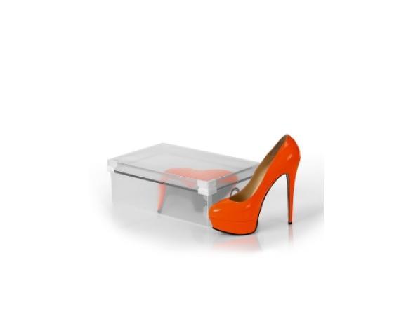 Коробка для хранения женских туфель LOKS L102-101