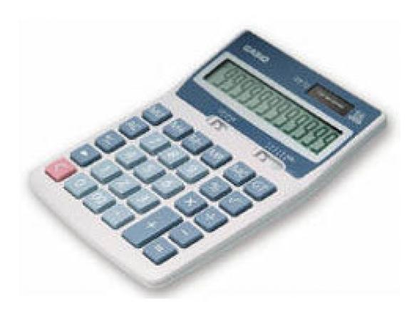 Калькулятор настольный Casio casDX-12