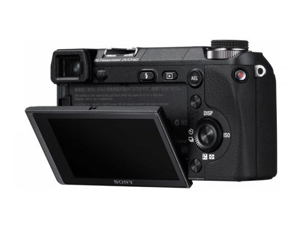 Цифровой фотоаппарат Sony Alpha NEX-6Y Kit 16-50 + 55-210 black