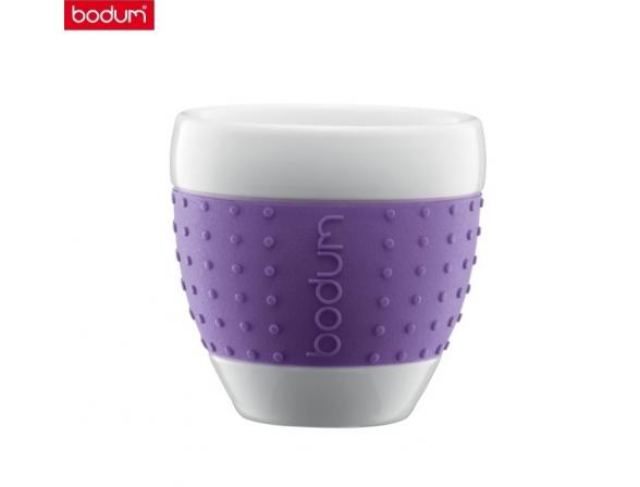 Набор бокалов BODUM 2 шт. Pavina 0.25л фиолет.