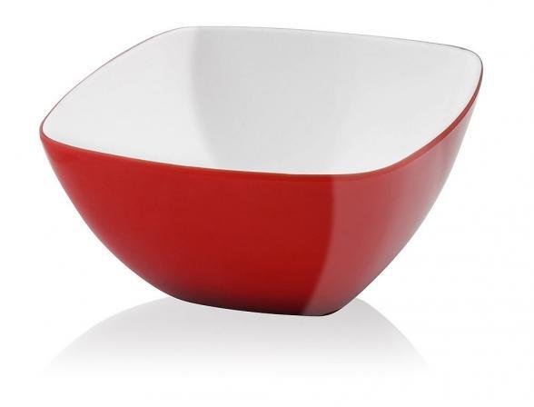 Миска Vialli Design LIVIO 14см красная L-14R