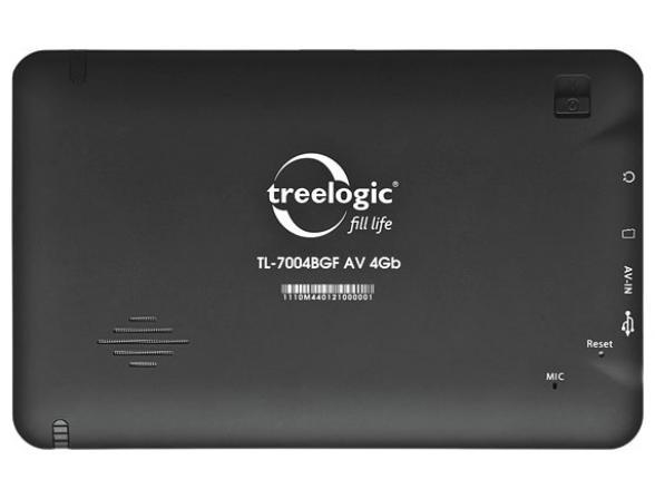 Навигатор Treelogic TL-7004 BGF AV 4GB