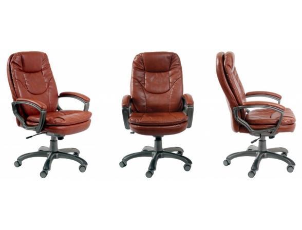 Кресло руководителя BURO CH-868AXSN/Brown