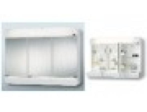 Зеркальный шкаф Sieper Alida 69х55х18 см, бежевый (5473013)