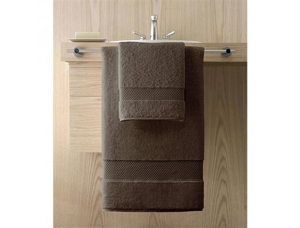 Полотенце банное большое KASSATEX Elegance Chocolate 86х168