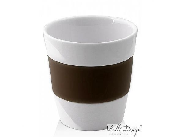 Набор стаканов Vialli Design LIVIO коричневый LIV-250BR