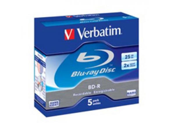 Blu-Ray диск Verbatim 25ГБ