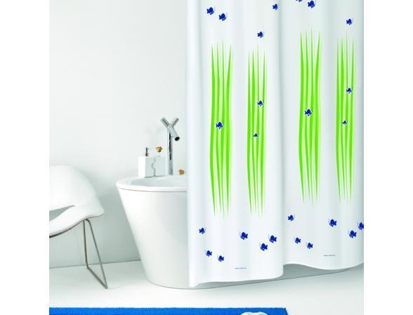 Штора для ванной Bacchetta 180х200 Alghe