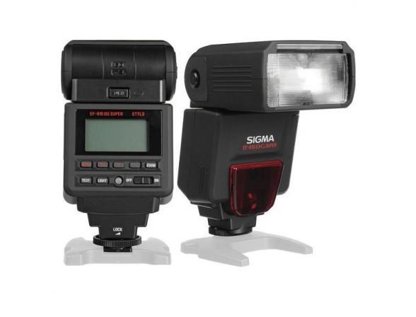 Вспышка Sigma EF 610 DG SUPER NA-ITTL для Nikon