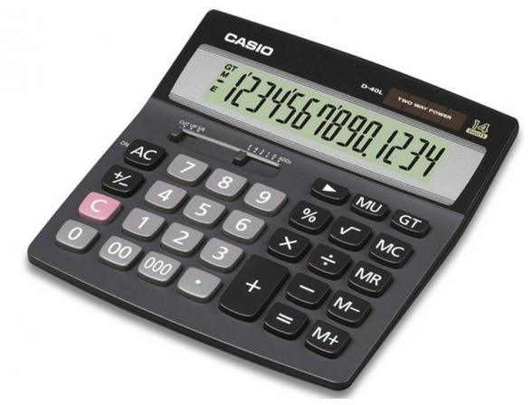 Калькулятор Casio casD-60L