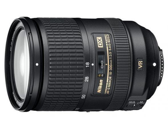 Объектив Nikon 18-300mm f/3.5-5.6G AF-S DX ED VR NIKKOR