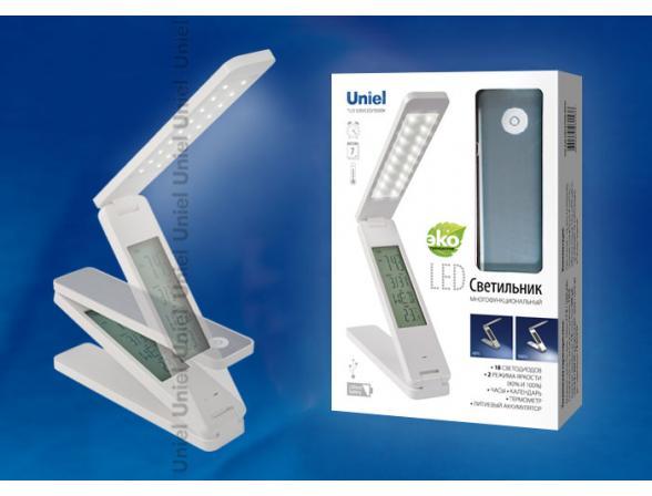 Лампа настольная Uniel TLD-520/LED/5500K/White
