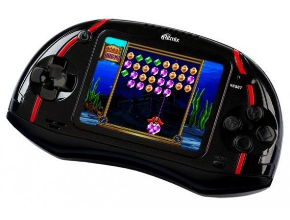 Игровая приставка RITMIX RZX-16 черная
