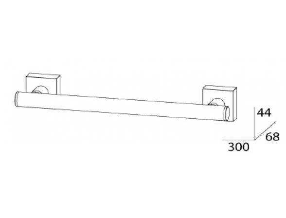 Держатель полотенца FBS ESPERADO 30 см ESP 029