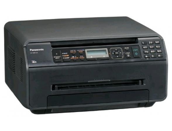 Многофункциональный аппарат Panasonic KX-MB1520RUB (принтер/сканер/копир) черный
