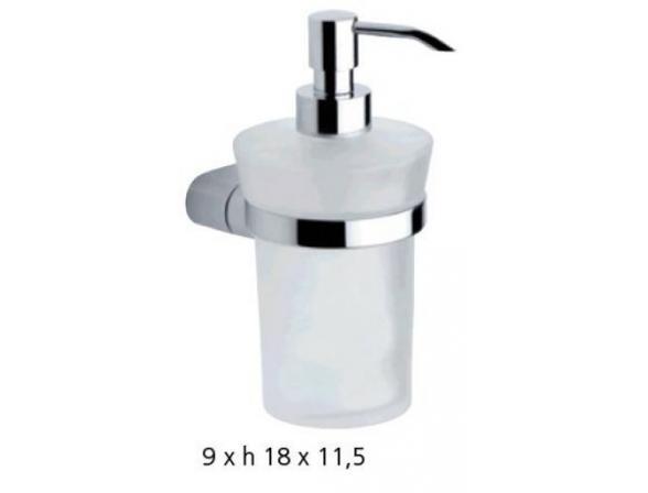 Дозатор для жидкого мыла METAFORM MIDA 101+32100
