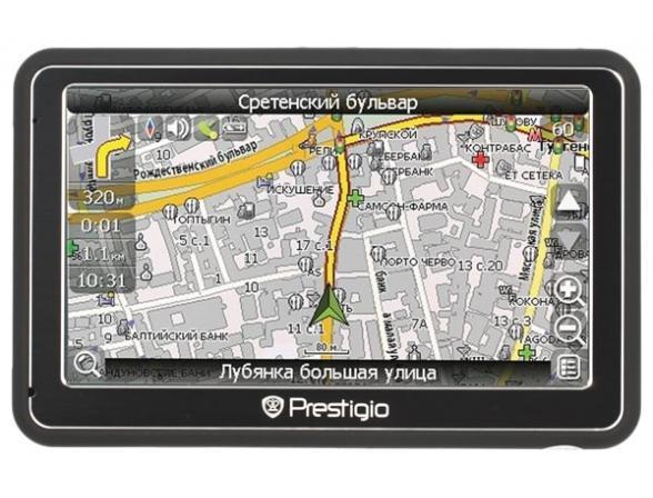 GPS-навигатор Prestigio GeoVision 5250 GPRS