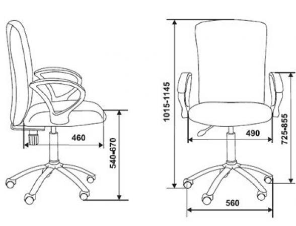 Кресло BURO CH-G782AXNL/27-03