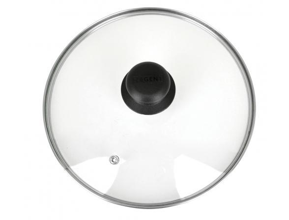 Крышка  низкая с пароотводом Regent Inox 93-LID-01-26