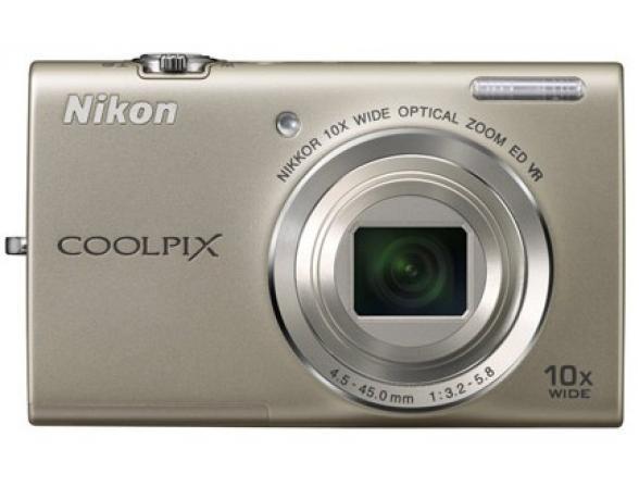 Цифровой фотоаппарат Nikon Coolpix S6200