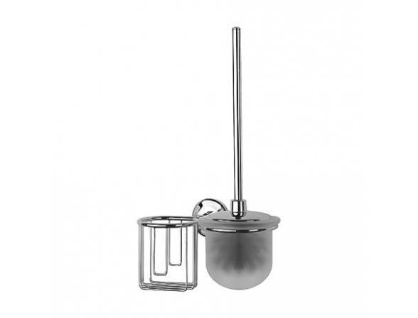 Комплект для туалета с держателем освежителя с крышкой FBS STANDARD STA 058