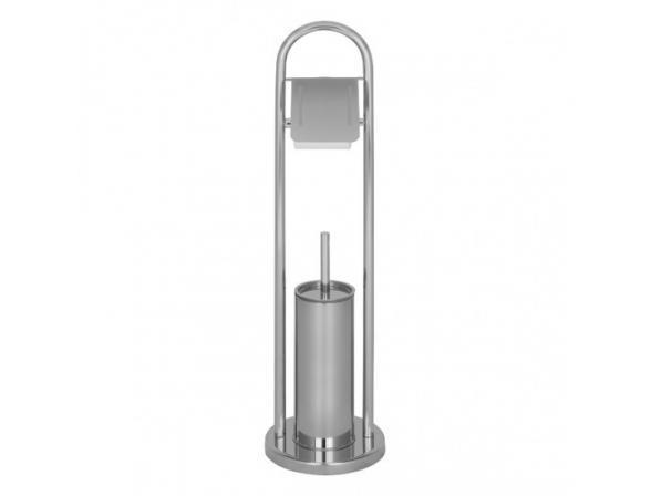 Комплект для туалета с держателем (напольный) DEFESTO DEF 002