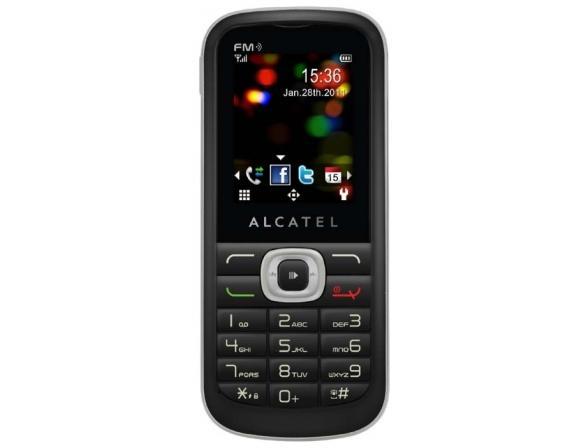Телефон Alcatel OT506D Black