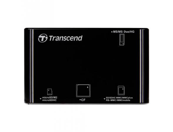 Ридер Transcend All-in-1 Multi Card Reader TS-RDP8K