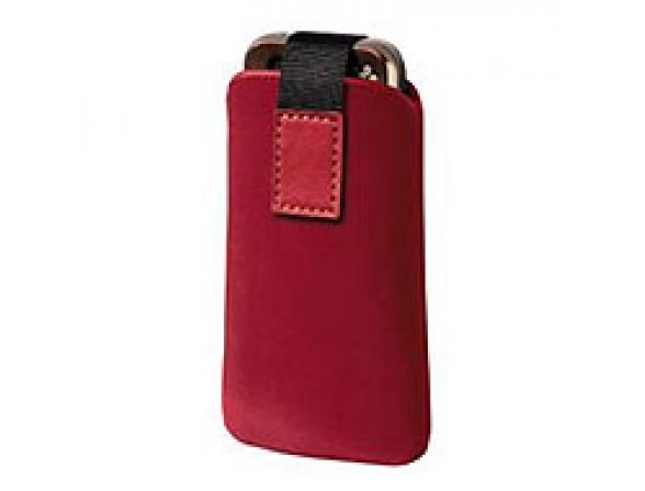 Чехол Hama для мобильного телефона Fabio, 6.5 x 1.3 x 12 см, нат.кожа, белый