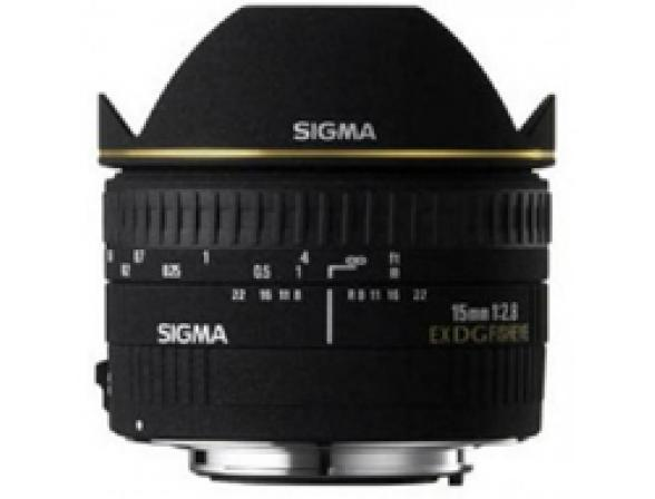 Объектив Sigma AF 15mm f/2.8 EX DG DIAGONAL FISHEYE NIKON