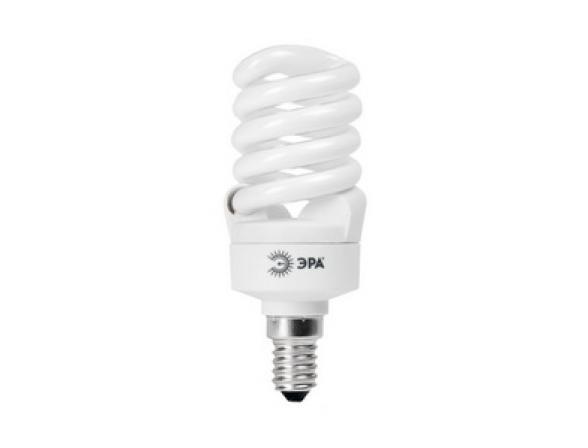 Лампа энергосберегающая ЭРА F-SP-15-827-E14