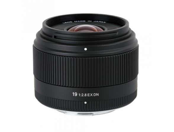 Объектив Sigma AF 19mm f/2.8 EX DN для фотокамер Sony NEX