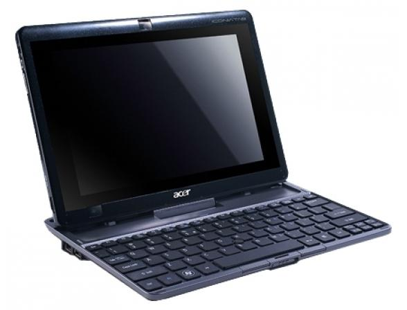 Планшет Acer Iconia Tab W501, Silver + Doc