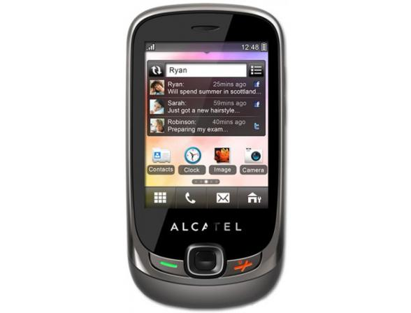Телефон Alcatel OT602D Titanium grey