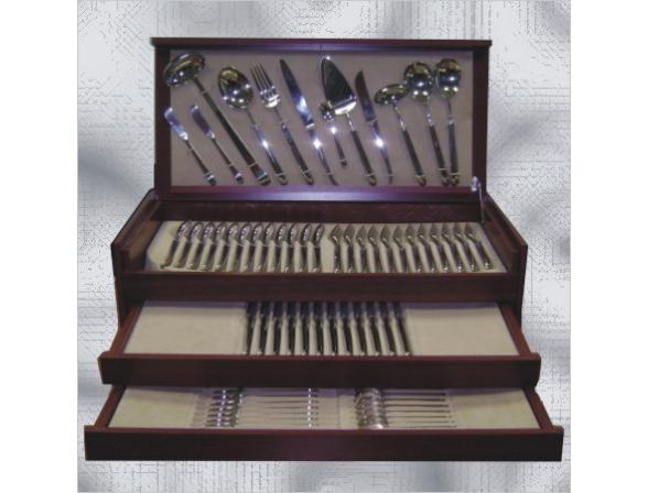 Набор столовых приборов CUTIPOL LINE GOLD 9171-72 72 пр.