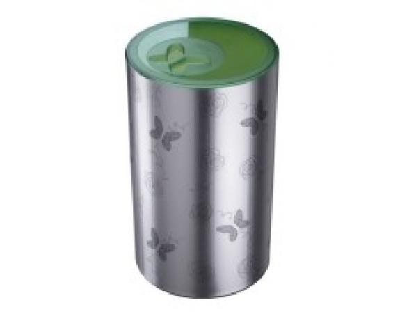 Бак для белья Meliconi 50л зеленая крышка
