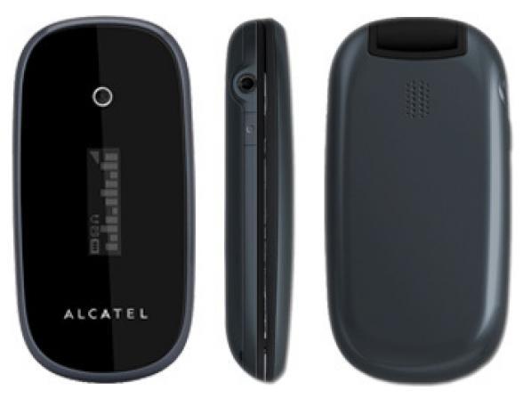 Телефон Alcatel OT665 Indigo Grey