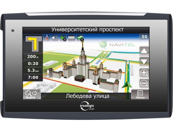 Навигатор Treelogic TL-5018BGF AV Glonass 4Gb