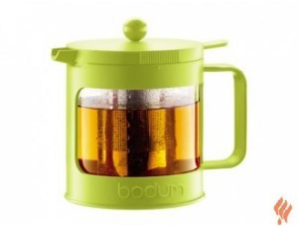 Чайник заварочный c прессом BODUM Bean 1.0л зеленый
