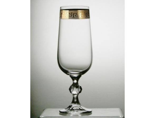 Набор бокалов для шампанского Bohemia Crystall Клаудия/375479К/ 180 мл
