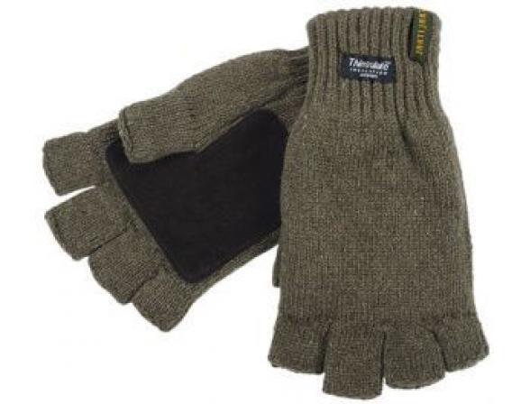 Перчатки JahtiJakt Half finger gloves green