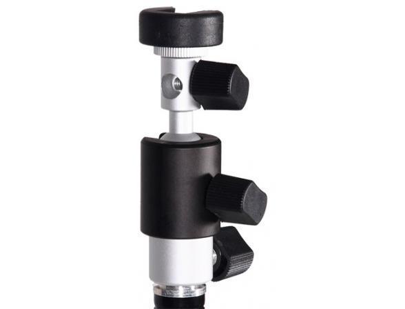 Поворотная стойка Phottix для вспышки и зонта-отражателя A2
