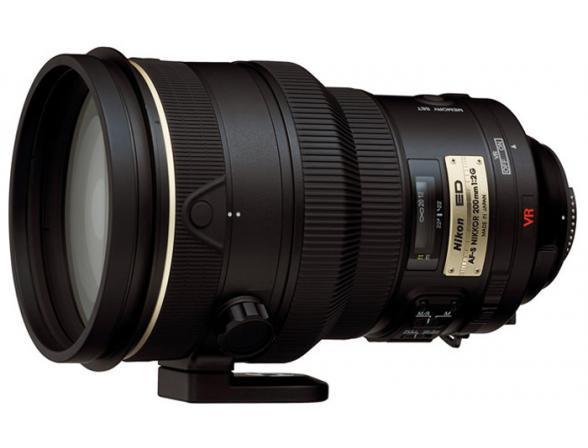 Объектив Nikon 200mm f/2G ED AF-S VR II Nikkor