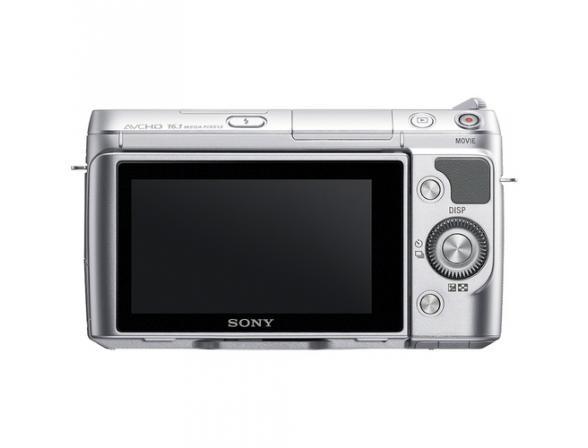 Цифровой фотоаппарат Sony Alpha NEX-F3K Kit 18-55 silver*