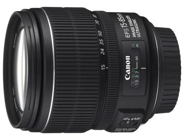 Объектив Canon EF-S 15-85 mm f/3.5-5.6 IS USM