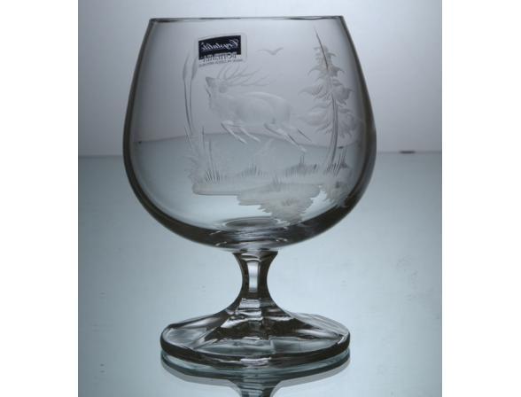Набор бокалов для бренди Crystalite Bohemia 250 мл *6 шт. Охота