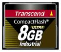 Флэш память Transcend 8 Gb CompactFlash 80x Industrial